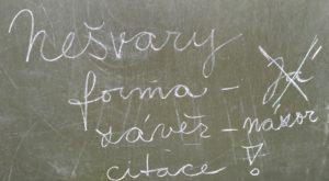 Tři nejčastější nešvary při psaní diplomové práce